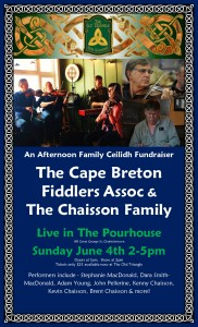 Cape Breton Fiddlers Association and The Chaisson Family Sunday June 4th 2017 2pm Dara Smith MacDonald poster photo