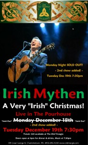 Irish Mythen Christmas Show in The Pourhouse Poster Dec 18th and 19th 2017 PHOTO