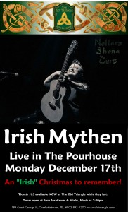Irish Mythen Christmas Show in the Pourhouse poster Monday Dec 17th 2018