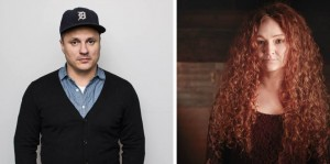 Meaghan Blanchard and Jim Bryson