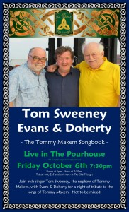 Tom Sweeney with Evans and Doherty Poster Photo Fri Oct 6 2017