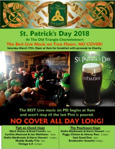 st. patrick's day 2018 poster photo
