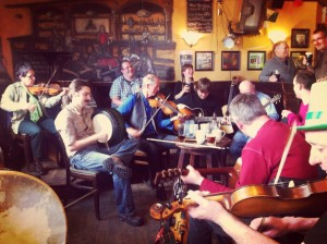 Irish Music Session with Roy Johnstone and friends. 2-5pm. Players welcome.