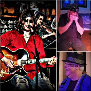 Ray Holden, John Cain and Gary Waterman ... PEI Blues Trio. 8pm, no cover, 19+.