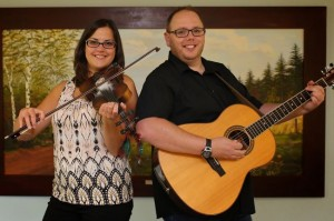 Jon Matthews and Sheila Mackenzie ... great fiddle tunes and songs, 7:30pm, no cover!