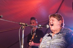 Theresa Malenfant and Scott Medford ... wicked Blues duo. 7:30pm