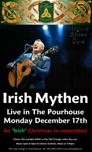 Irish Mythen Christmas Show in The Pourhouse Poster Dec 18th 2017 photo