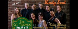 LADY SOUL Christmas Party Weekend!  Get your groove on!  9pm til late ...  No Cover!