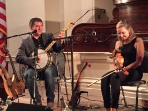 Rachel Davis and Darren McMullen