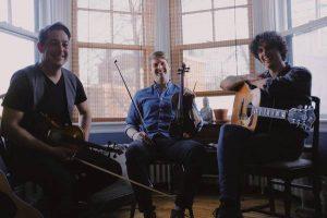 Colin Grant, Jesse Periard and Rowen Gallant ... amazing Trad Trio, 7-11pm, no cover
