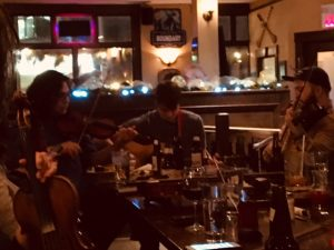 """Sort of"" Schooner Session.  Thursdays 7-9pm.  NOT AN OPEN SESSION as we would all love, but a few folks around a table playing tunes none the less! Host Ward MacDonald will invite and gather a few musical friends each Thursday evening for some tunes.  Come on down and soak up some music for the Soul!"